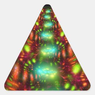 カーニバル 三角形シール