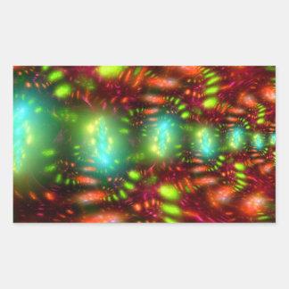 カーニバル 長方形シール