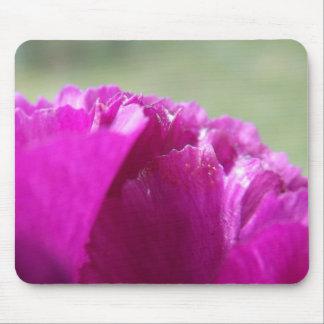 カーネーションの花びら マウスパッド