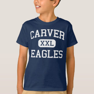 カーバーイーグルス中間のフレズノカリフォルニア Tシャツ