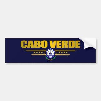 カーボベルデ共和国のプライド バンパーステッカー