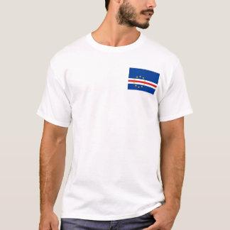 カーボベルデ共和国の国民の世界の旗 Tシャツ