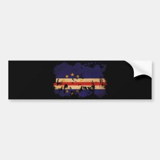 カーボベルデ共和国の旗 バンパーステッカー