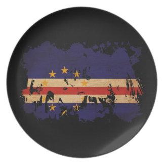 カーボベルデ共和国の旗 プレート