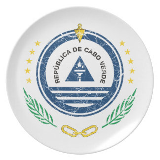 カーボベルデ共和国の紋章付き外衣 プレート