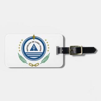 カーボベルデ共和国の紋章付き外衣 ラゲッジタグ