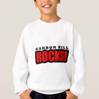 カーボン丘、アラバマ都市デザイン スウェットシャツ