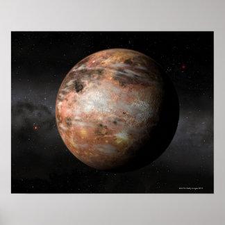 カーボン惑星 ポスター