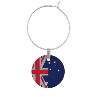 カーボン繊維のクロムスタイルのオーストラリアのデザイン ワインチャーム