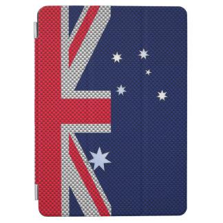 カーボン繊維のクロム装飾のオーストラリアの旗のデザイン iPad AIR カバー