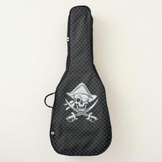 カーボン繊維のプリントの装飾のクロム海賊 ギターケース