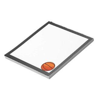 カーボン繊維の一見のバスケットボール ノートパッド