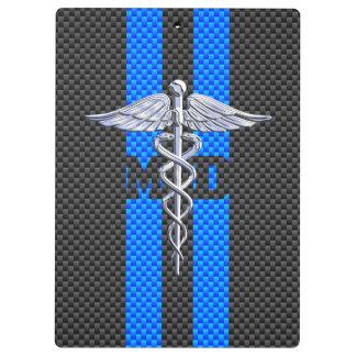 カーボン繊維の装飾の医者MDのケリュケイオン クリップボード