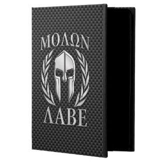カーボン繊維のMolon Labeのクロムスパルタ式のヘルメット iPad Airケース
