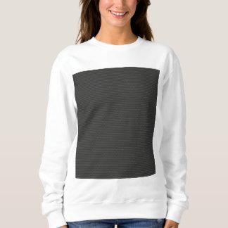 カーボン繊維パターン スウェットシャツ