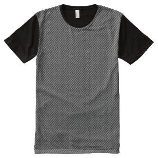 カーボン繊維 オールオーバープリントT シャツ