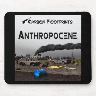 カーボン足跡- Anthropocene マウスパッド