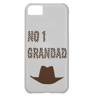 カーボーイ・ハットを持つNO1祖父 iPhone5Cケース