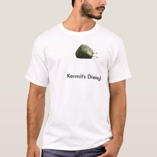 カーミットの死ぬこと! Tシャツ