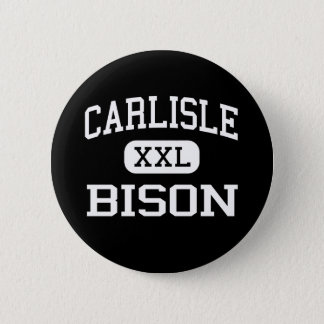 カーライル-バイソン-高等学校-カーライルアーカンソー 5.7CM 丸型バッジ