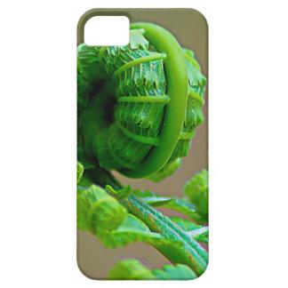 カールされたシダのiPhone6ケース iPhone SE/5/5s ケース