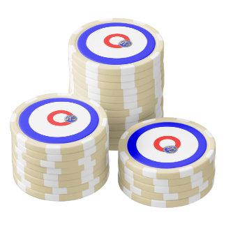 カールの石 ポーカーチップ