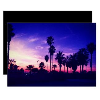 カールズバッドの日没 カード