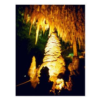 カールズバッドの洞窟の国立公園のつけられたインテリア ポストカード