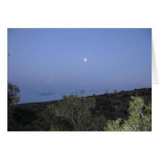 カールズバッド上の月 カード