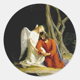 カールハインリッヒBloch 1805年著Gethsemane ラウンドシール