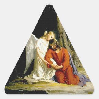 カールハインリッヒBloch 1805年著Gethsemane 三角形シール