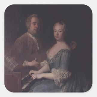 カールハインリッヒGraunおよび彼の妻アナルイーズ スクエアシール