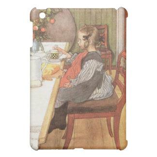 カールラーション遅い暴徒の悲惨な朝食 iPad MINI カバー