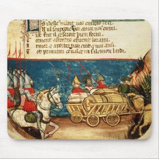 カール大帝および交通機関の軍隊 マウスパッド