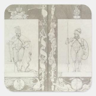 カール大帝およびHeymon 1804-5年 スクエアシール