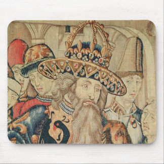 カール大帝のTournaiの研修会の頭部 マウスパッド