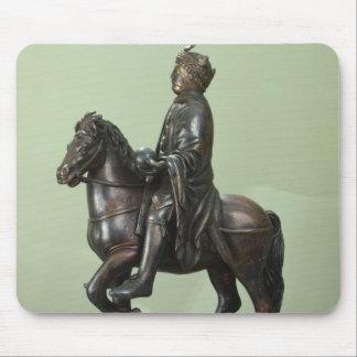 カール大帝2の乗馬の彫像 マウスパッド
