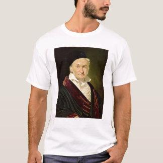 カール・フリードリヒ・ガウス1840年のポートレート Tシャツ