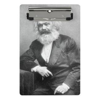 カール・マルクスのポートレート ミニクリップボード