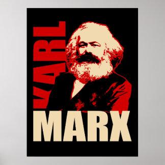 カール・マルクスのポートレート、共産主義/社会主義ポスターの ポスター