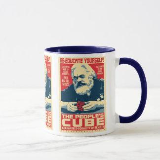 カール・マルクス-人々の立方体: OHPのマグ マグカップ