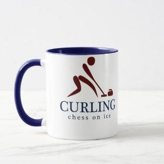 カール: 氷のチェス マグカップ