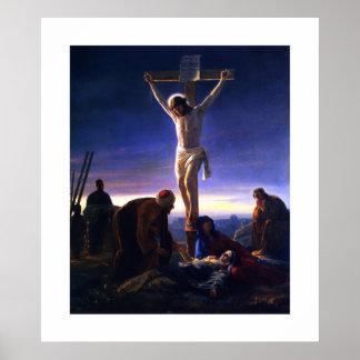 カールBloch著イエス・キリストのはりつけ。 ポスター