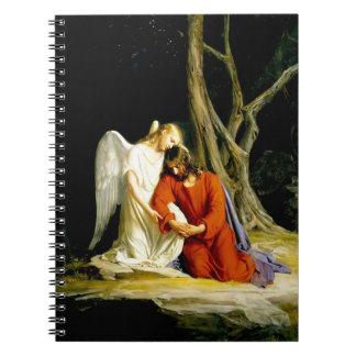 カールBloch著Gethsemane。 キリスト教のギフトのノート ノートブック