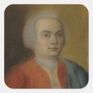 カールPhilippエマニュエルBach、c.1733 スクエアシール