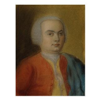 カールPhilippエマニュエルBach、c.1733 ポストカード