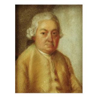 カールPhilippエマニュエルBach、c.1780のポートレート ポストカード