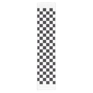 カーレース/チェスパターン + あなたのbackgr。 及びアイディア ショートテーブルランナー