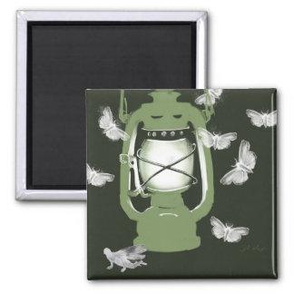 ガおよび妖精の磁石が付いているランタン マグネット