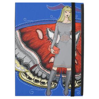 """ガの妖精のファッションのイラストレーションのiPadカバー iPad Pro 12.9"""" ケース"""